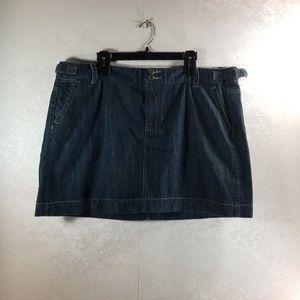 GAP Jean Mini ,adjustable waist, size 20